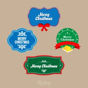 Christmas stickers
