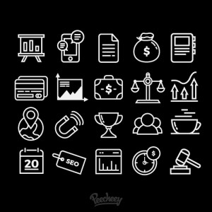 0002. Line Business Icons