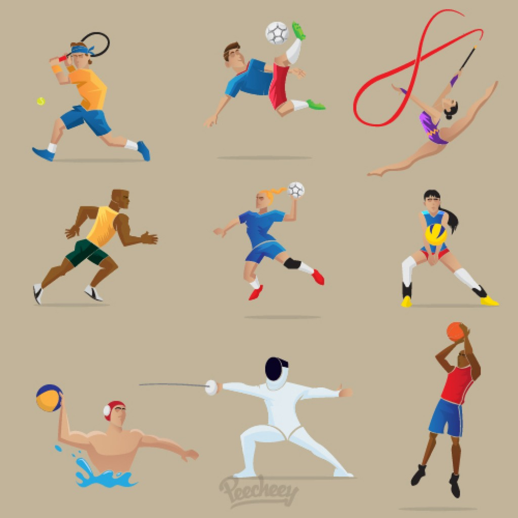 Athletics logo olympics
