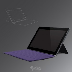 Surface purple