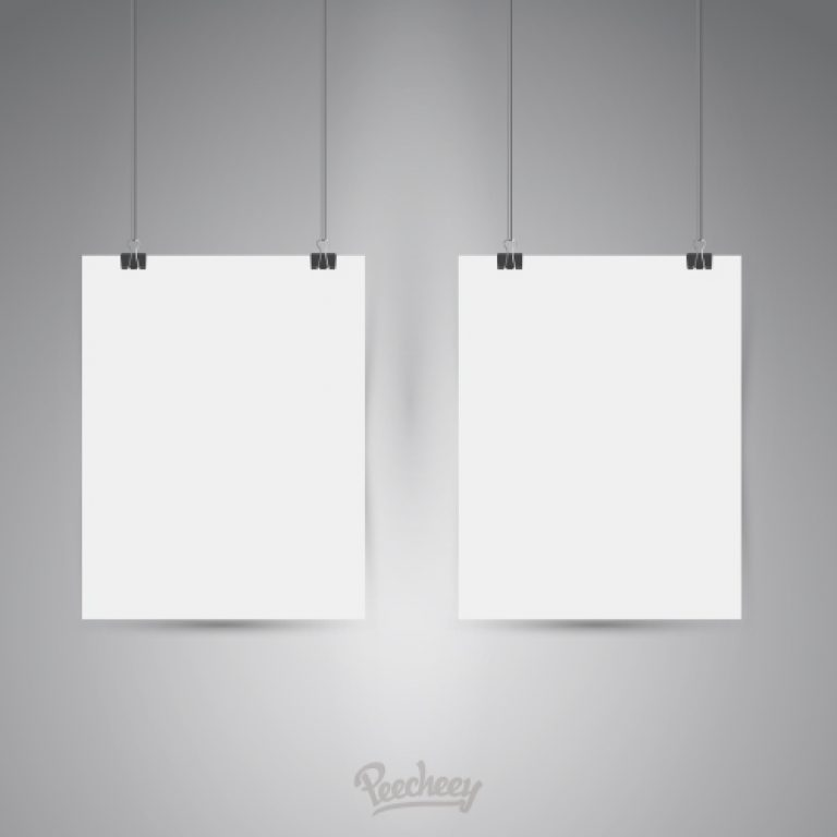 Blank posters