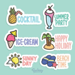 Summer stickers 2