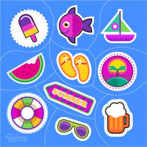 Summer_stickers