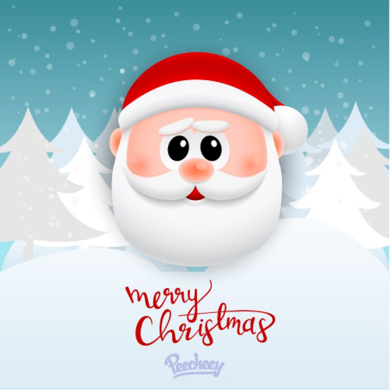 Merry christmas greeting car with santa claus free vector merry christmas greeting car with santa claus free vector free vector m4hsunfo